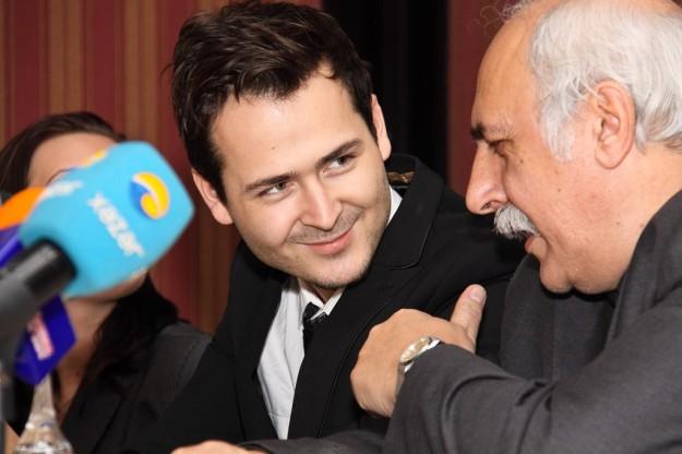 With Edward Maya (Romania)